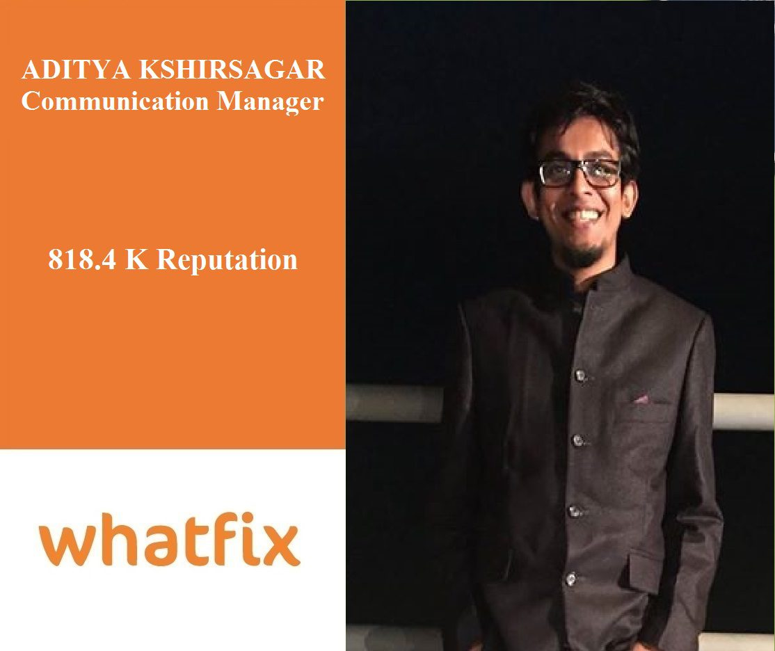 Whatfix Careers: Meet Aditya, Our Communication Manager