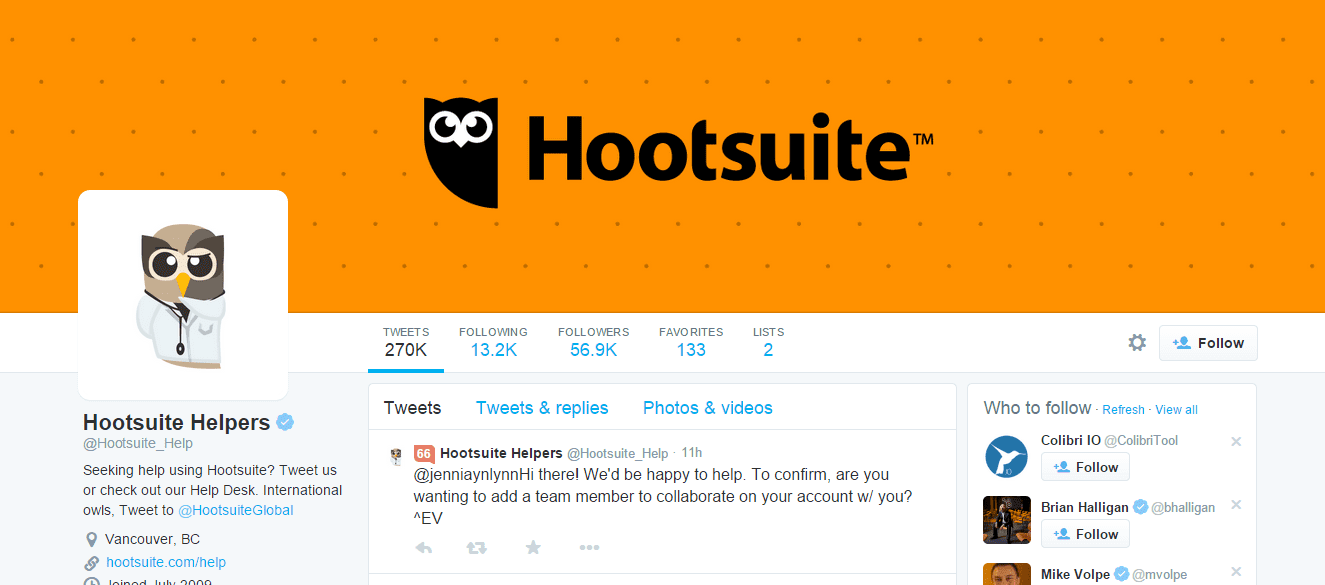 how to get hootsuite to connect to a facebook page
