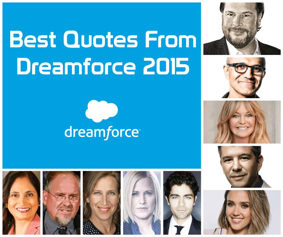 Dreamforce 2016 Quotes