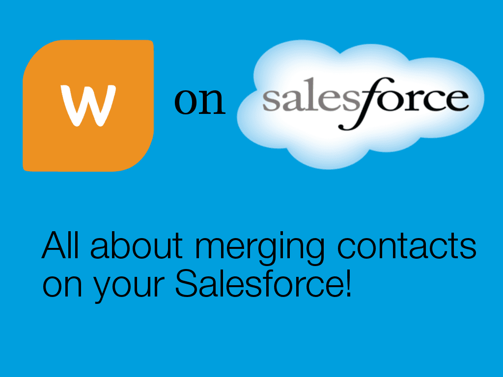 merging contacts on Salesforce
