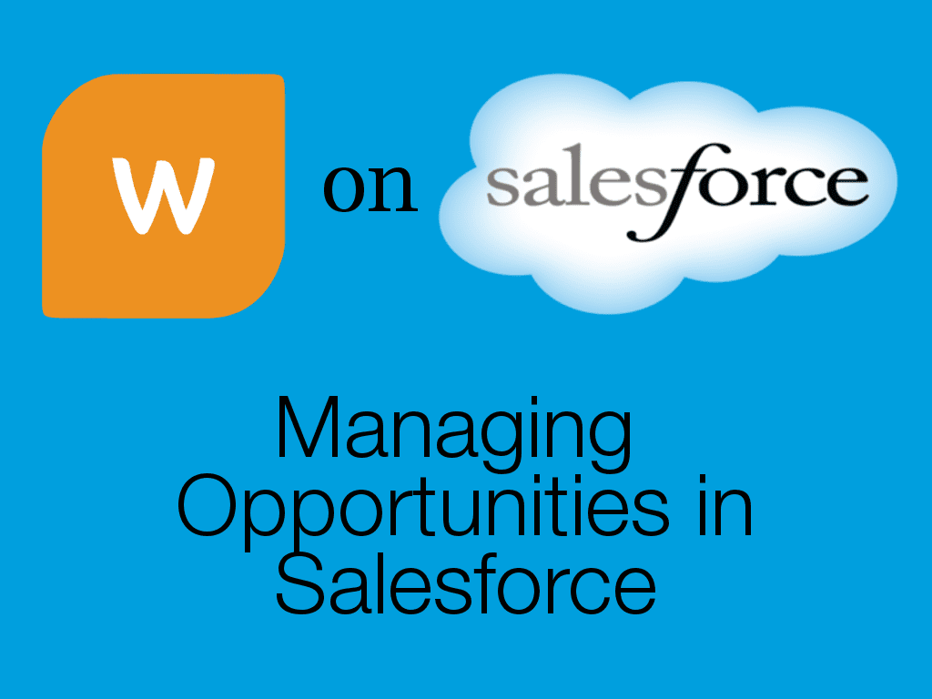Opportunities in Salesforce