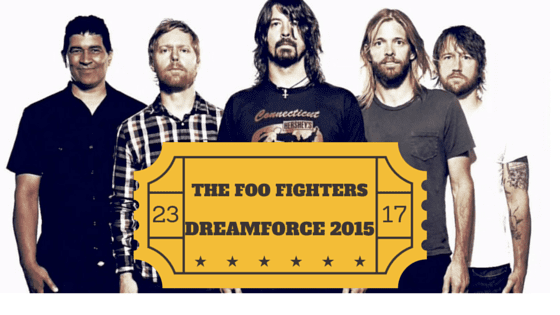 foo fighters at dreamforce 2015