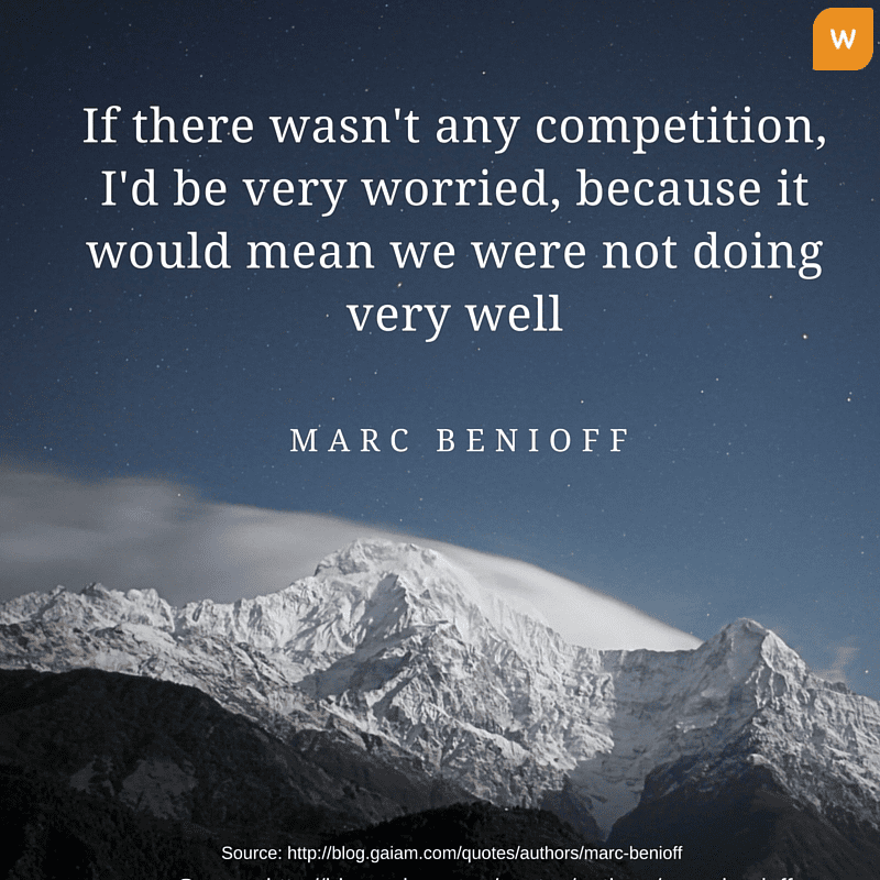 Marc Benioff Quotes on Competition