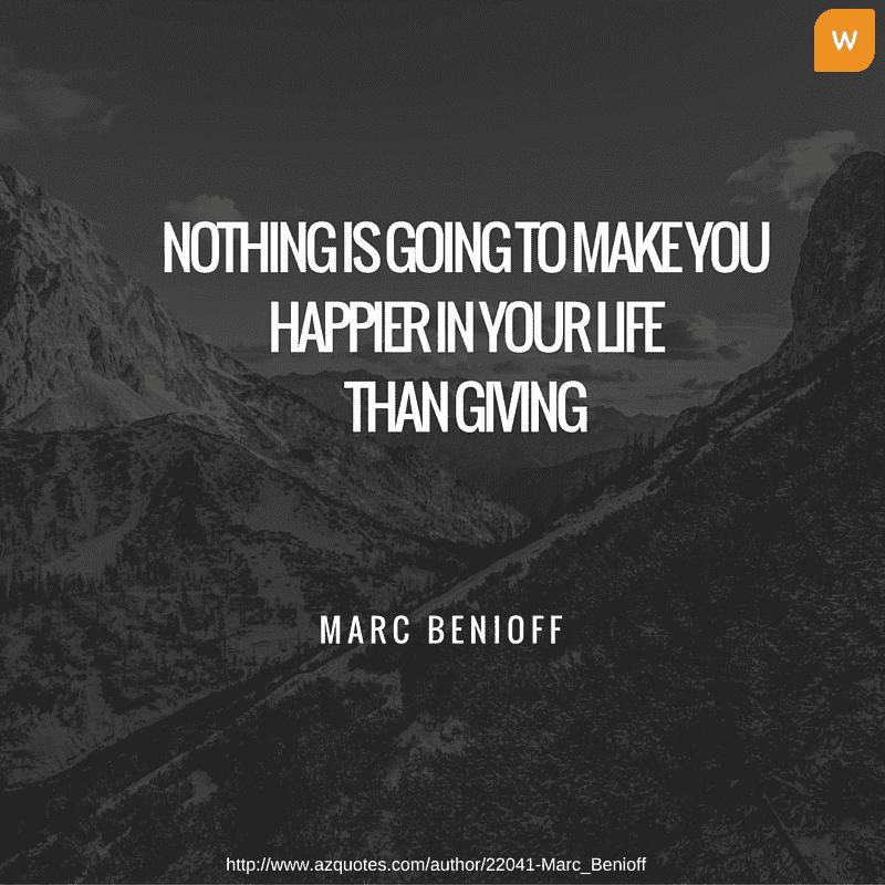 Marc Benioff Philantrophy