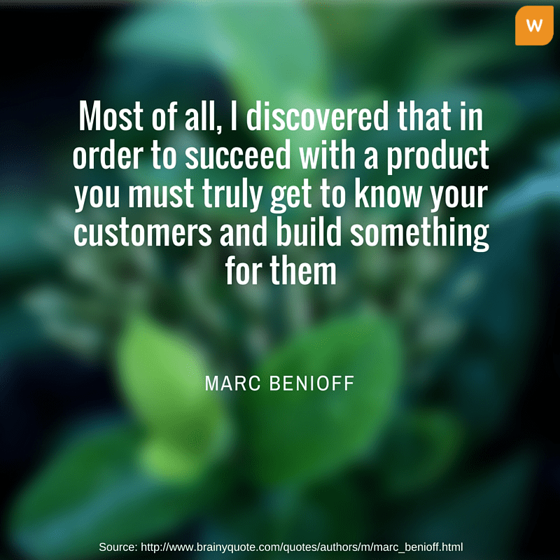 Marc Benioff Customer relationship