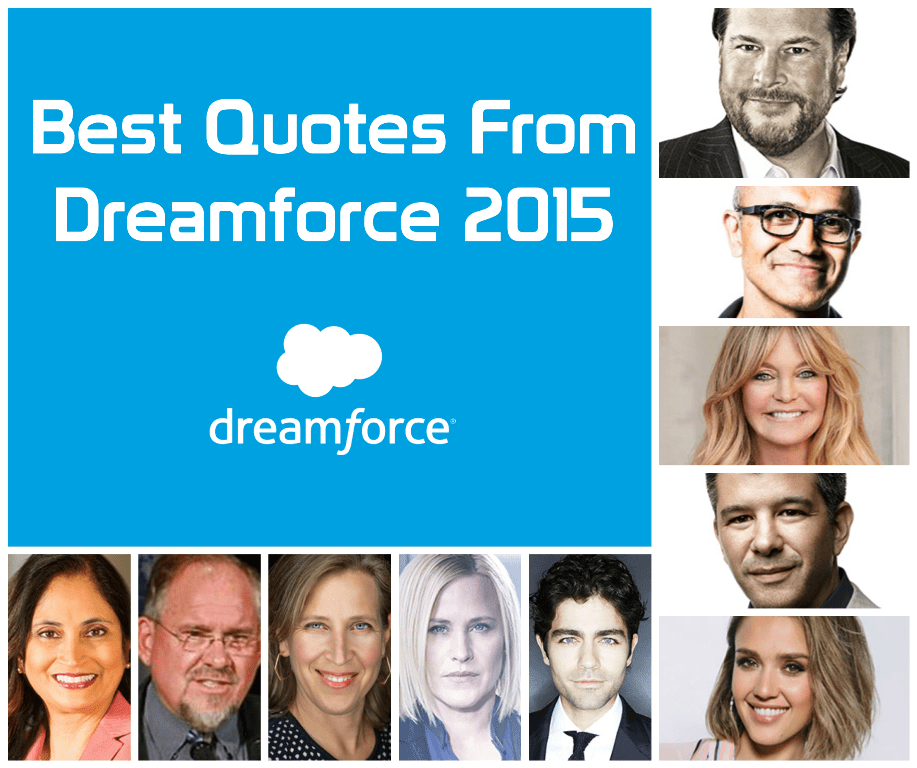 Dreamforce 2015 quotes