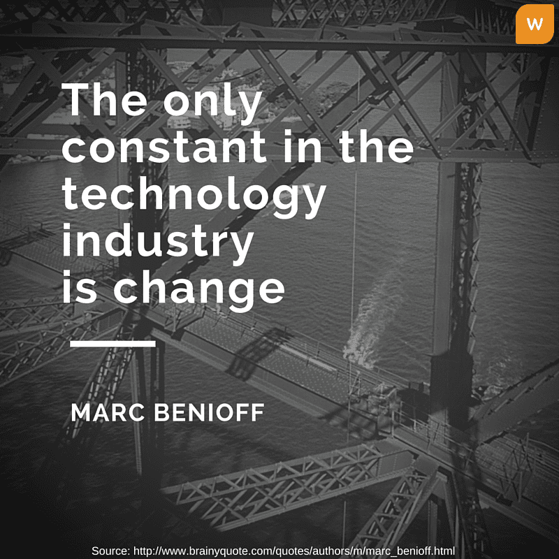 Marc Benioff Quotes on Technology industry