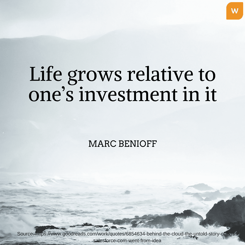 Marc Benioff Investment