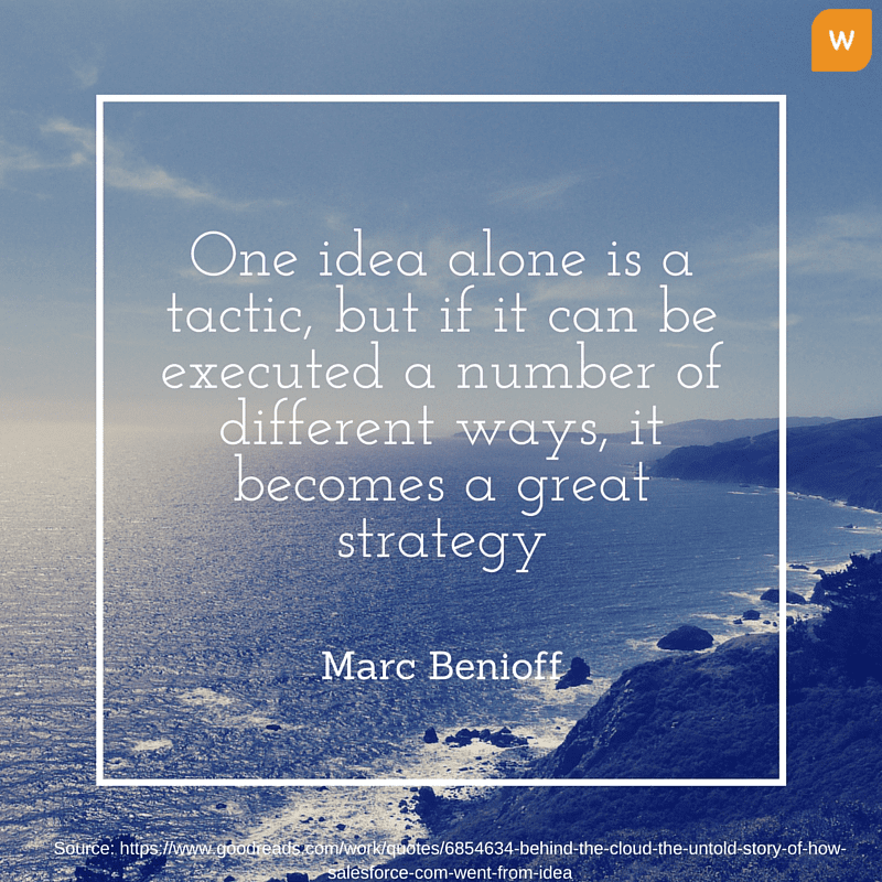 Marc Benioff Quotes on Strategy