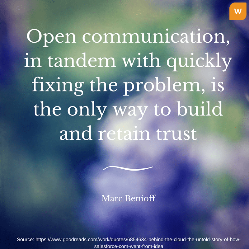 Marc Benioff Quotes on Communication