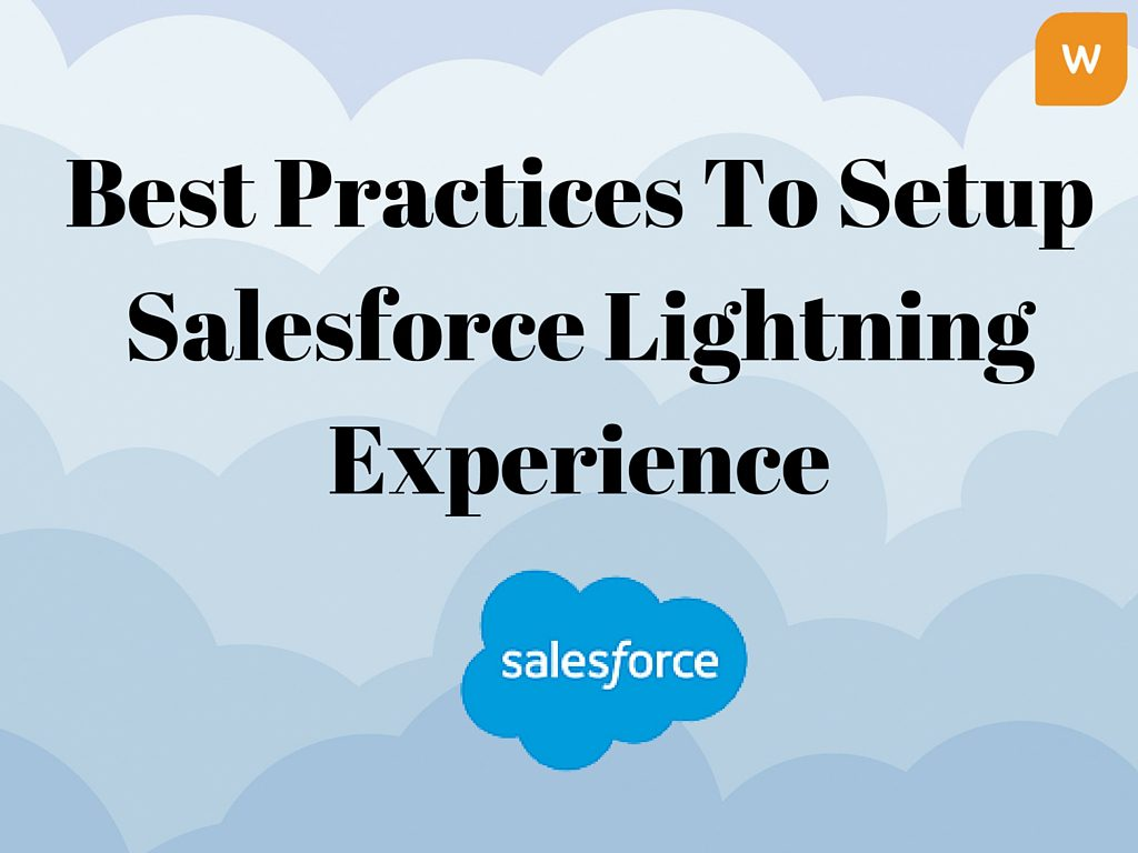 Setup Salesforce Lightning Experience