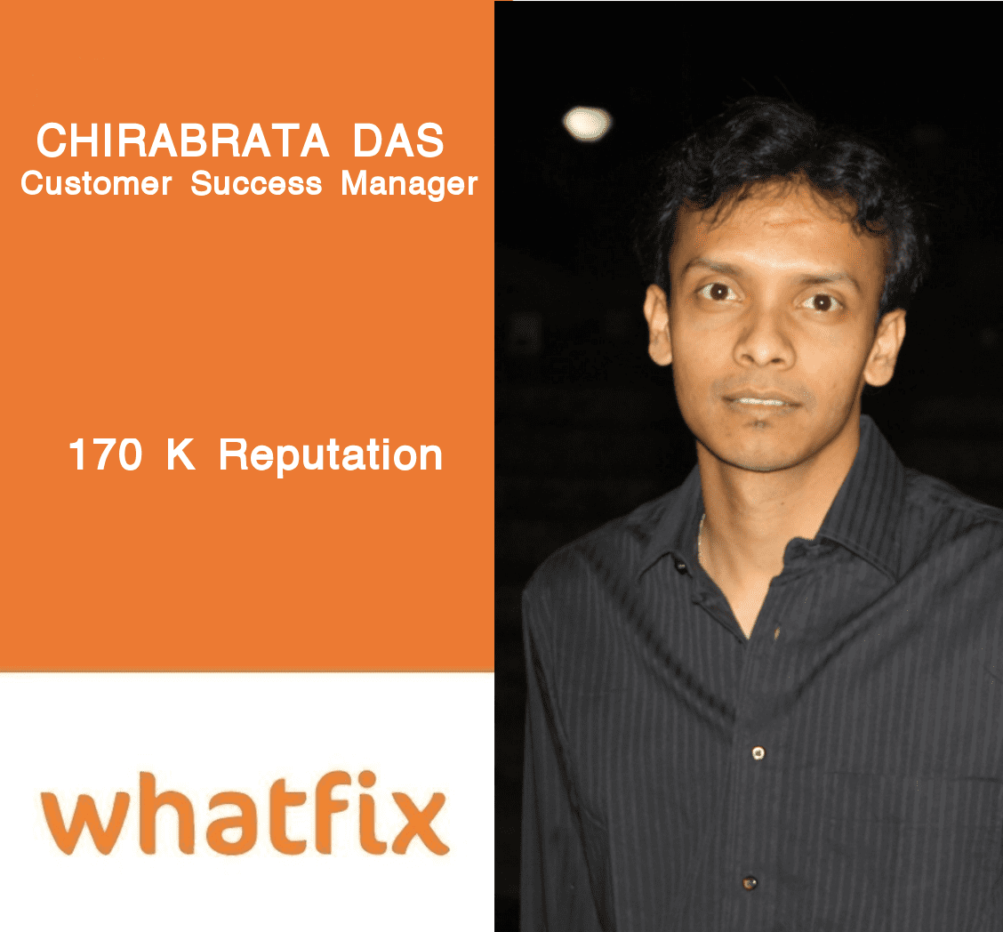 Whatfix Careers: Meet Chirabrata Das, Customer Success Manager