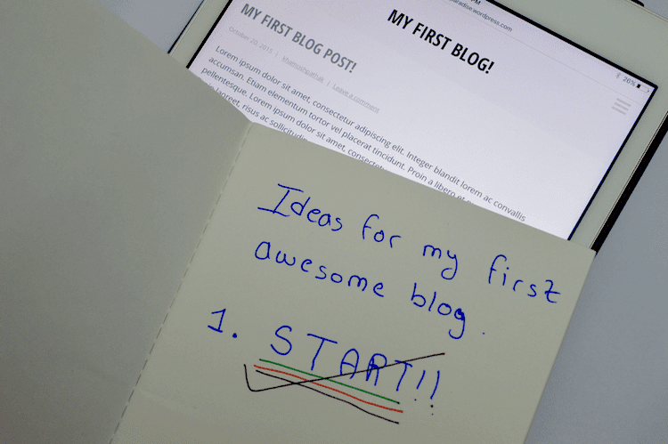 Beginners Guide to Blogging: Ideas for my first awesome blog