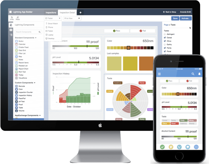 Salesforce Lightning UI