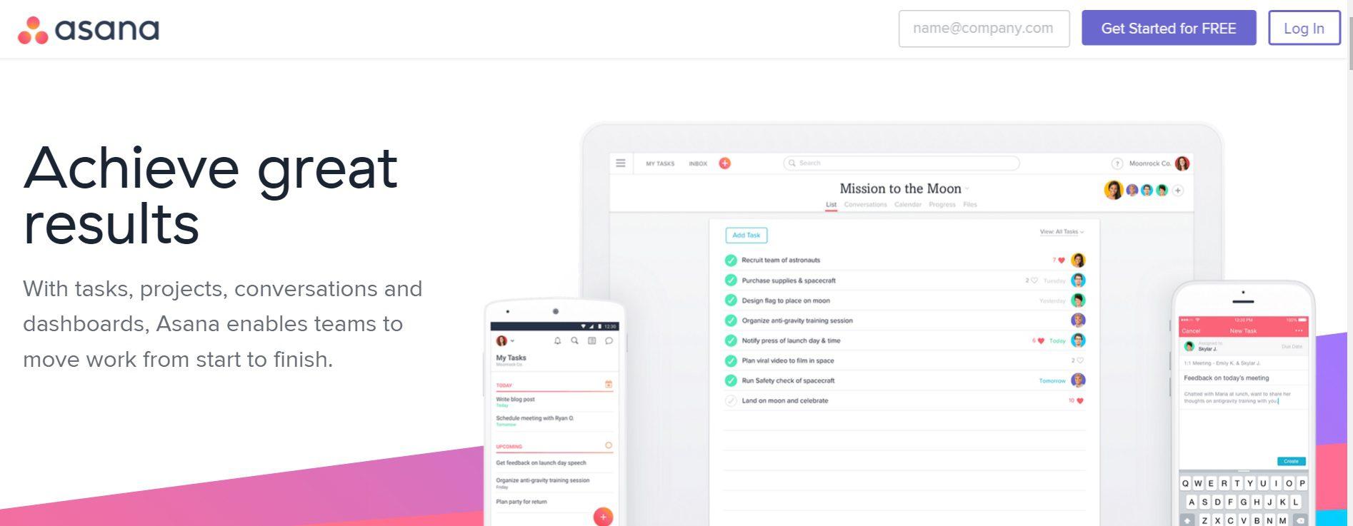 4 Project Management Tools To Kickstart Your Team's Productivity - Asana