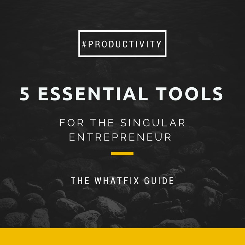 Essential Web Tools