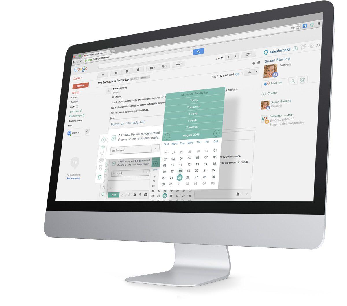 what is SalesforceIQ