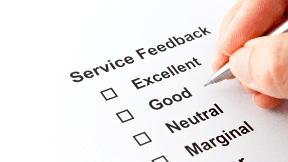 customer service reviews