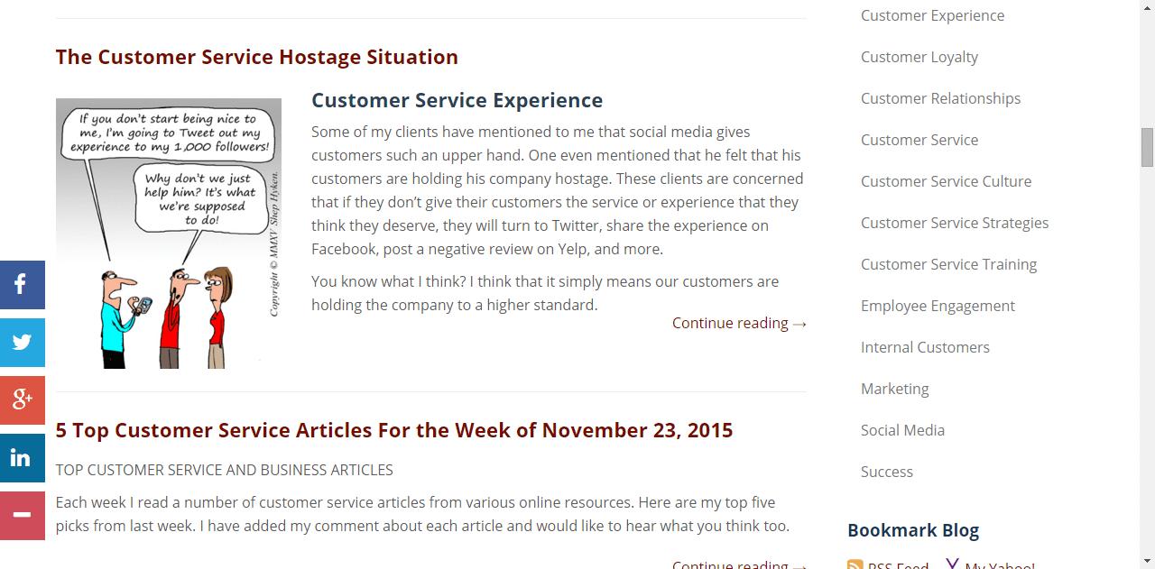 Shep Hyken's Customer Support Blog