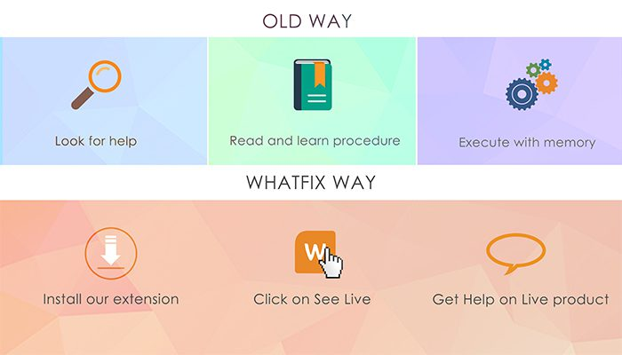 The Whatfix Way