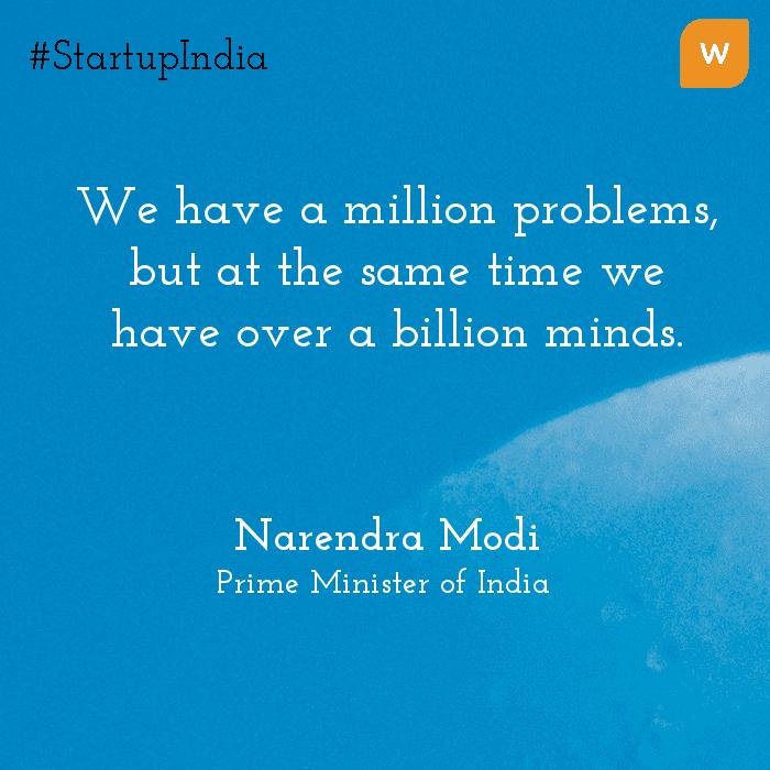 Startup India Quotes - Narendra Modi