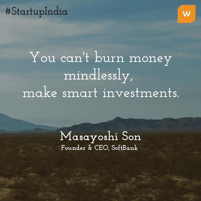Startup India Quotes - Masayoshi Son