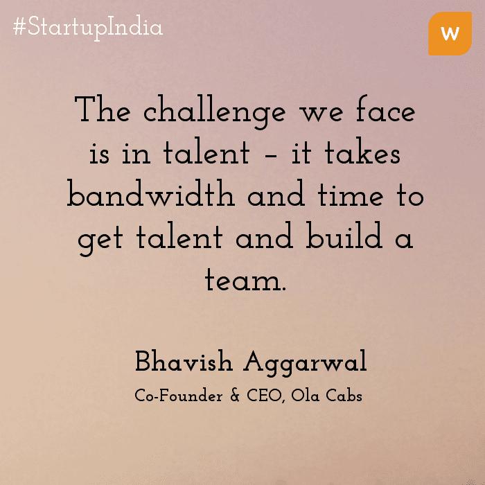Startup India Quotes - Bhavish Agarwal