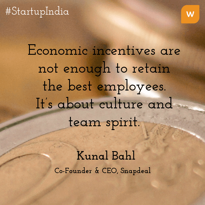 Startup India Quotes - Kunal Bahl