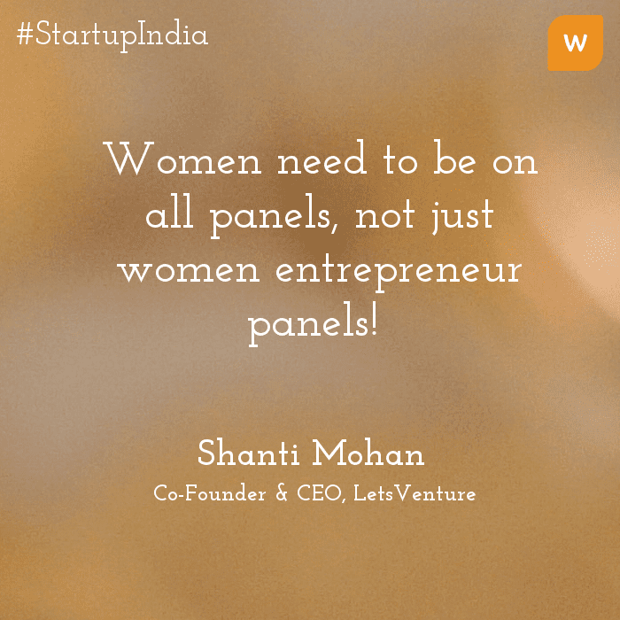 Startup India Quotes - Shanti Mohan