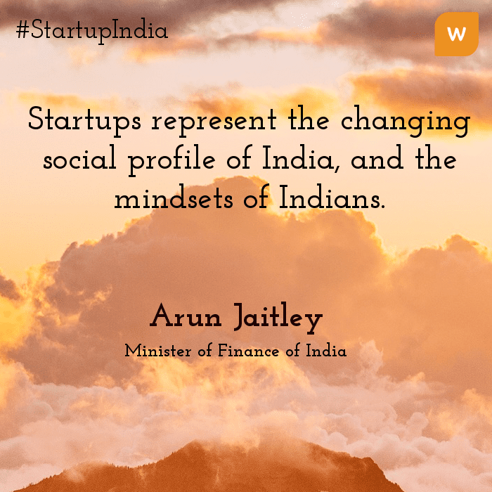 Startup India Quotes - Arun Jaitely