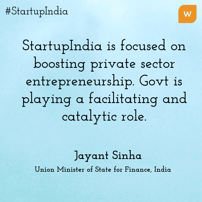 Startup India Quotes - Jayant Singha