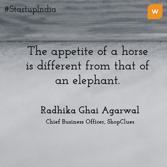 Startup India Quotes - Radhika Aggarwal