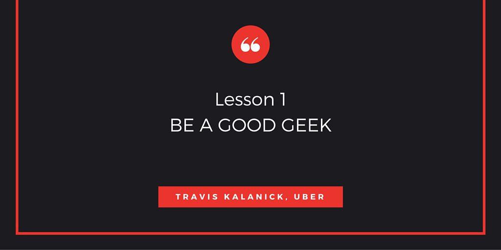 Lesson 1BE A GOOD GEEK
