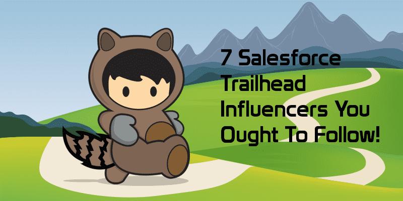 Salesforce Trailhead Influencers