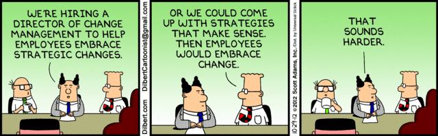 Change Management - Controlling change