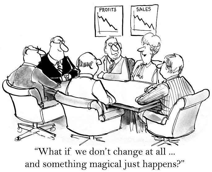 Change Management - So finally, what should really change?