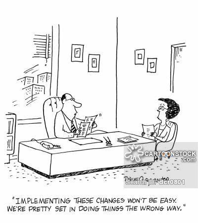 Organization Scenario of Change Management