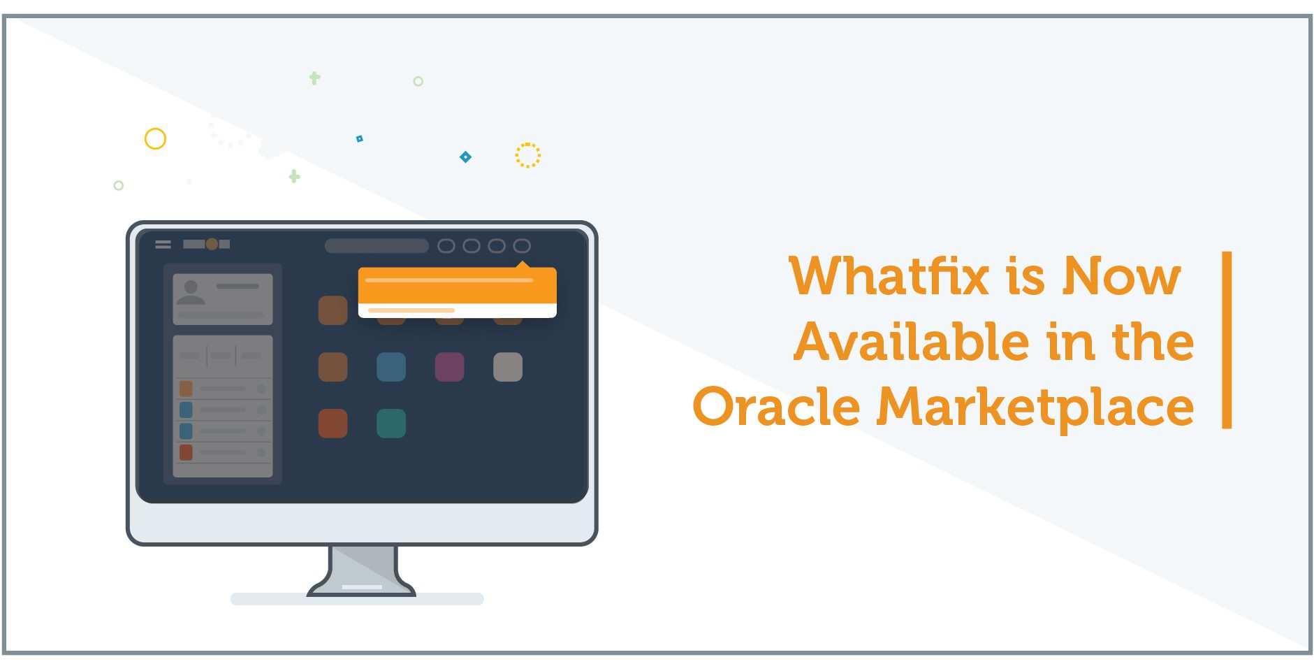 Whatfix is Now Available in the Oracle Cloud Marketplace