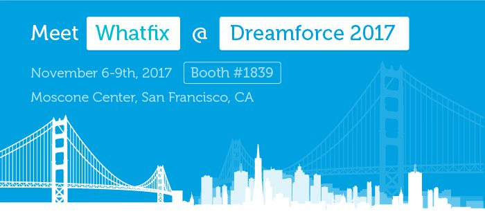 Meet Whatfix at Dreamforce