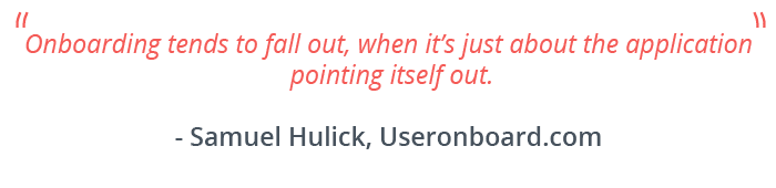 User Onboarding - Quote #2
