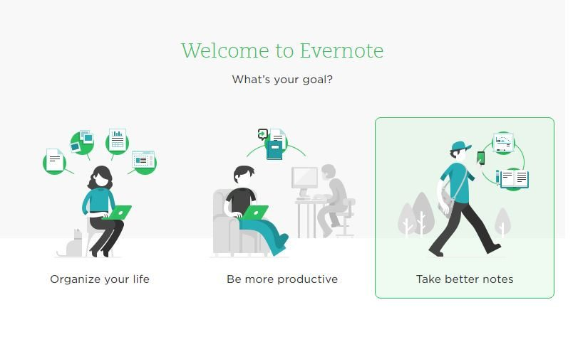 "Automate a ""Getting Started"" session - Evernote"