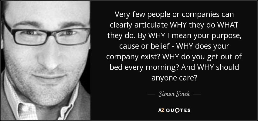 Simon Sinek - Why, How, What