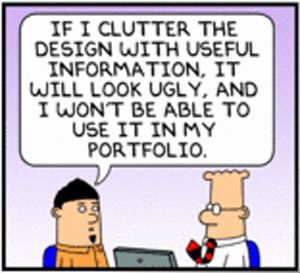 Dilbert - User experience design