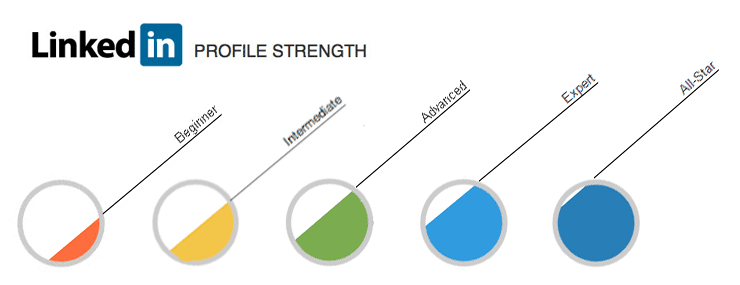 LinkedIn Profile Strength Meter