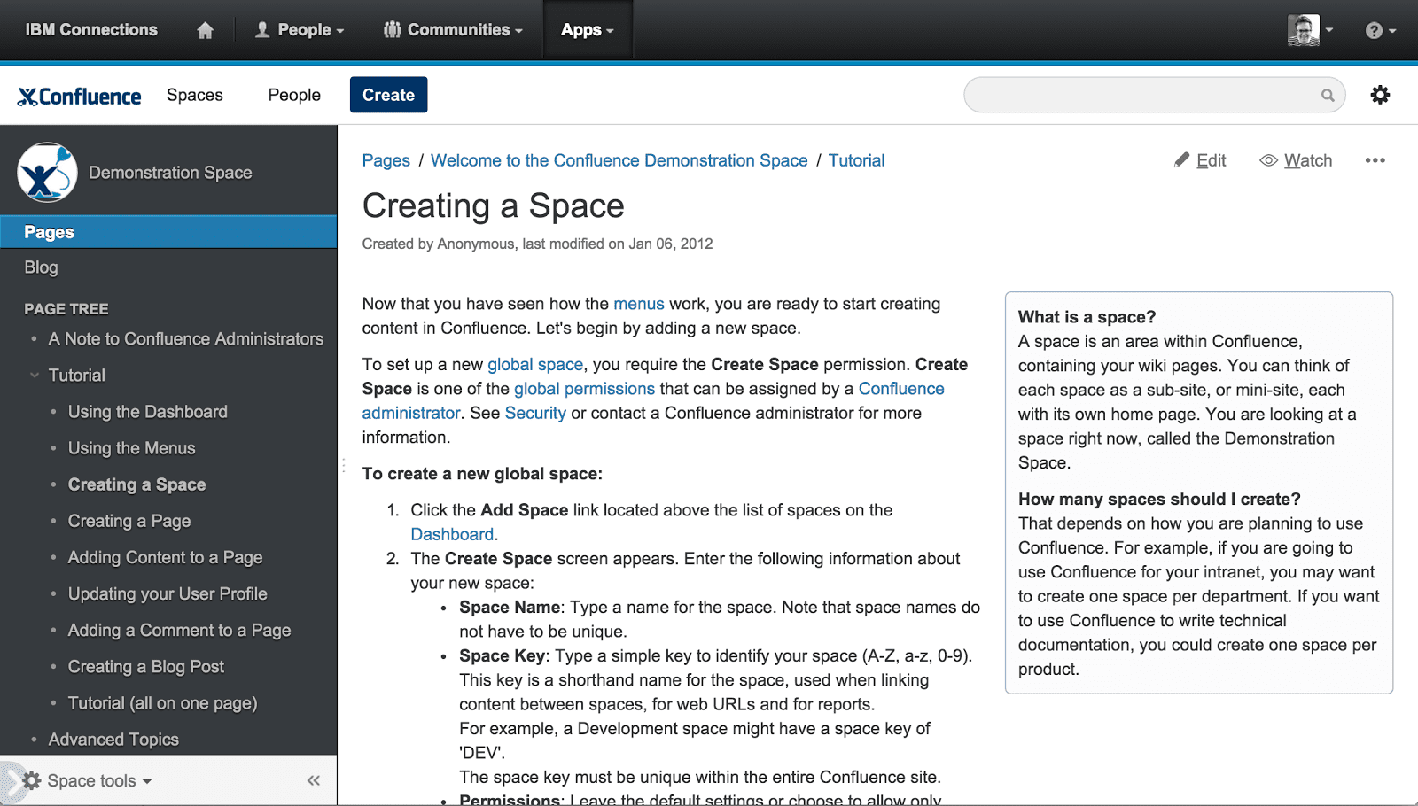 Confluence - user onboarding tools
