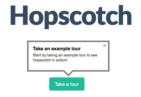 Hopscotch - User Onboarding Tools