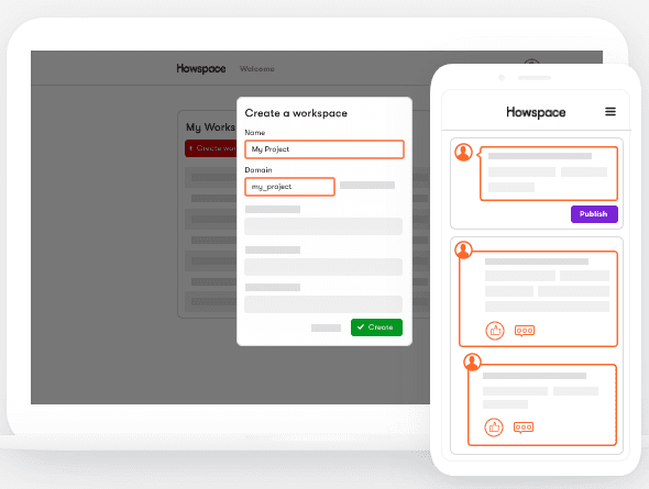 change management tools - Howspace