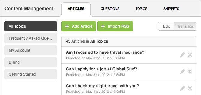 desk.com Customer support tools-