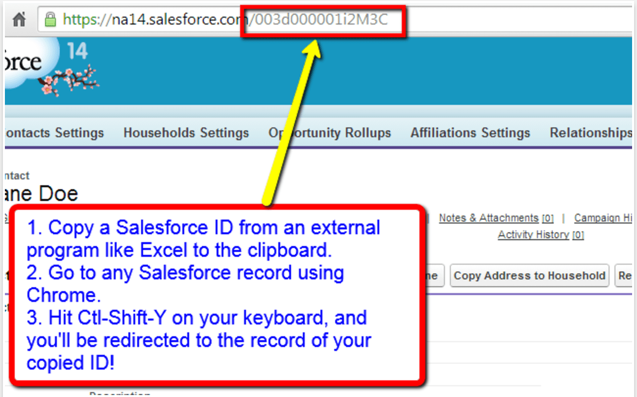 Salesforce Id Paster - Salesforce Chrome extensions