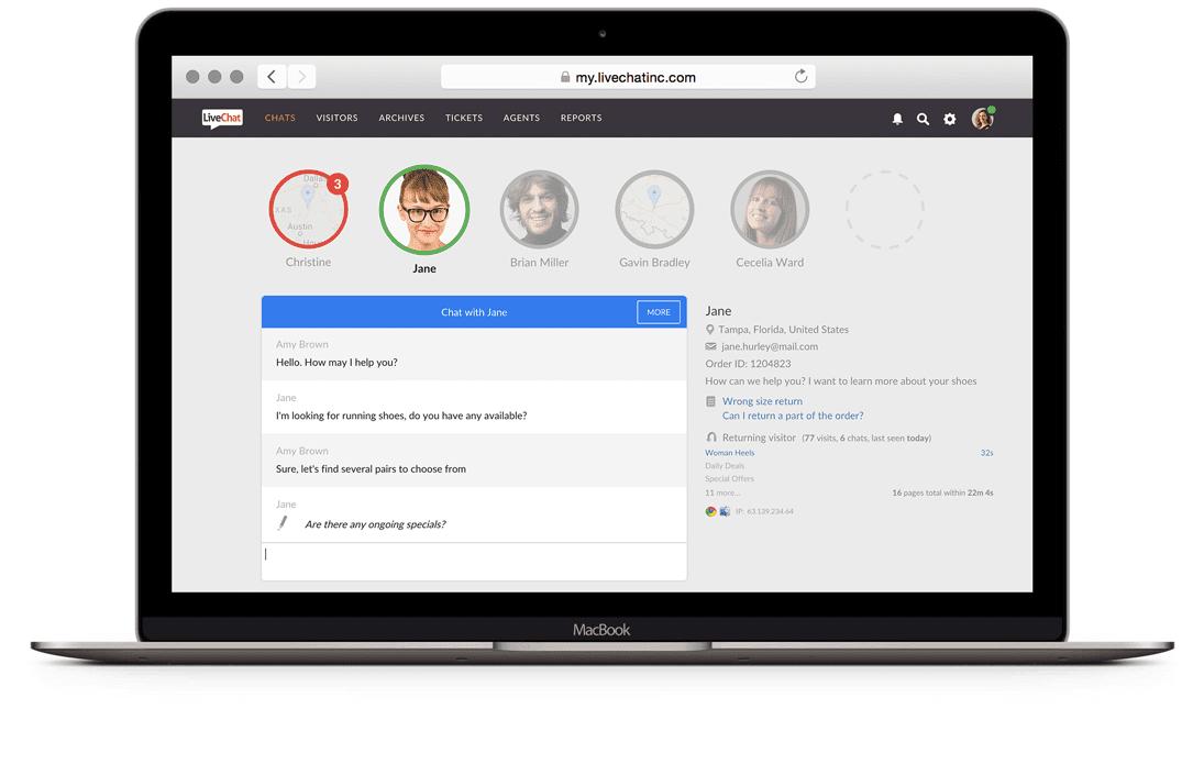 Customer service tools-livechatinc